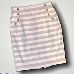 Ann Taylor LOFT Striped Skirt